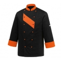 Kitchen jacket Orange Patch
