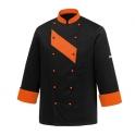 Kitchen jacket Orange Patch